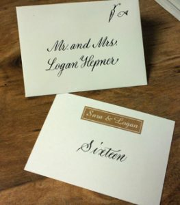 Place Card and Envelope